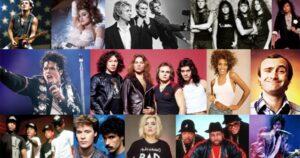 artisti anni 80